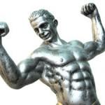 Creatina, aumento de massa muscular