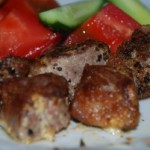Carne fuente glutamina